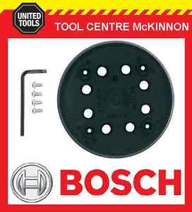 bosch pex 270 sander replacement 125mm base pad ebay. Black Bedroom Furniture Sets. Home Design Ideas
