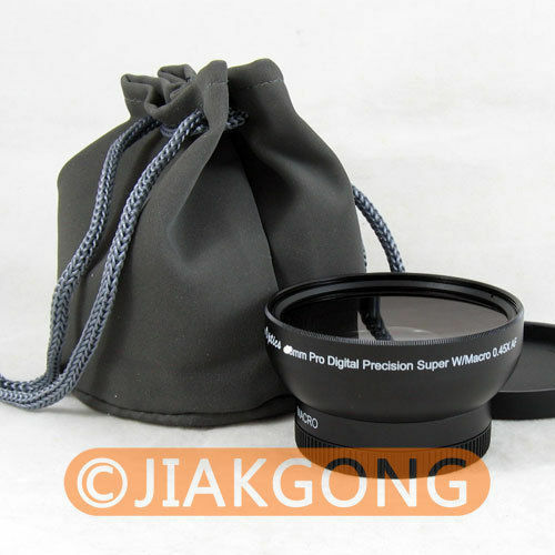46mm 0.45x WIDE Angle + Macro Conversion LENS 46 0.45
