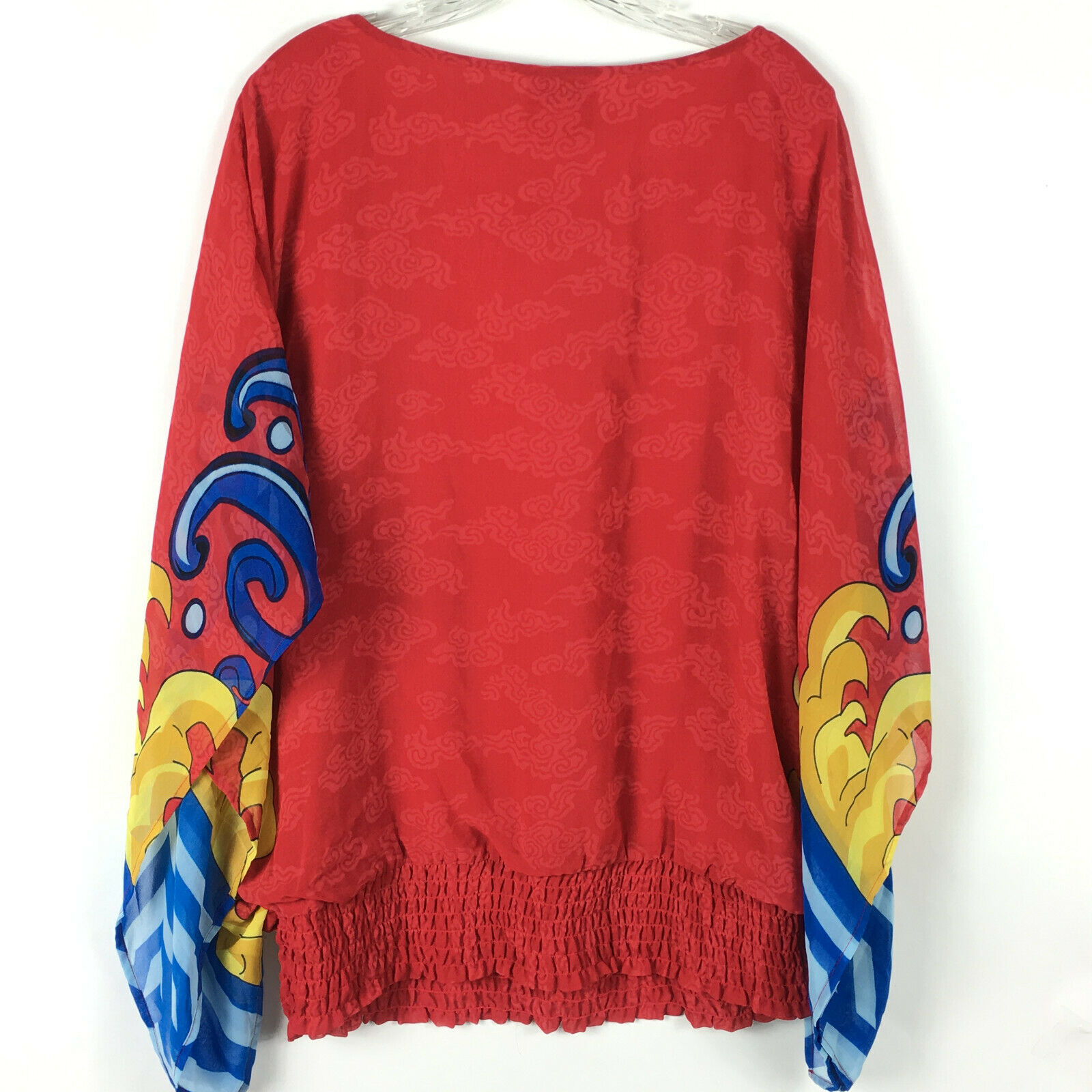 Very Vollbracht Art to Wear Oversized Blouse Wome… - image 3
