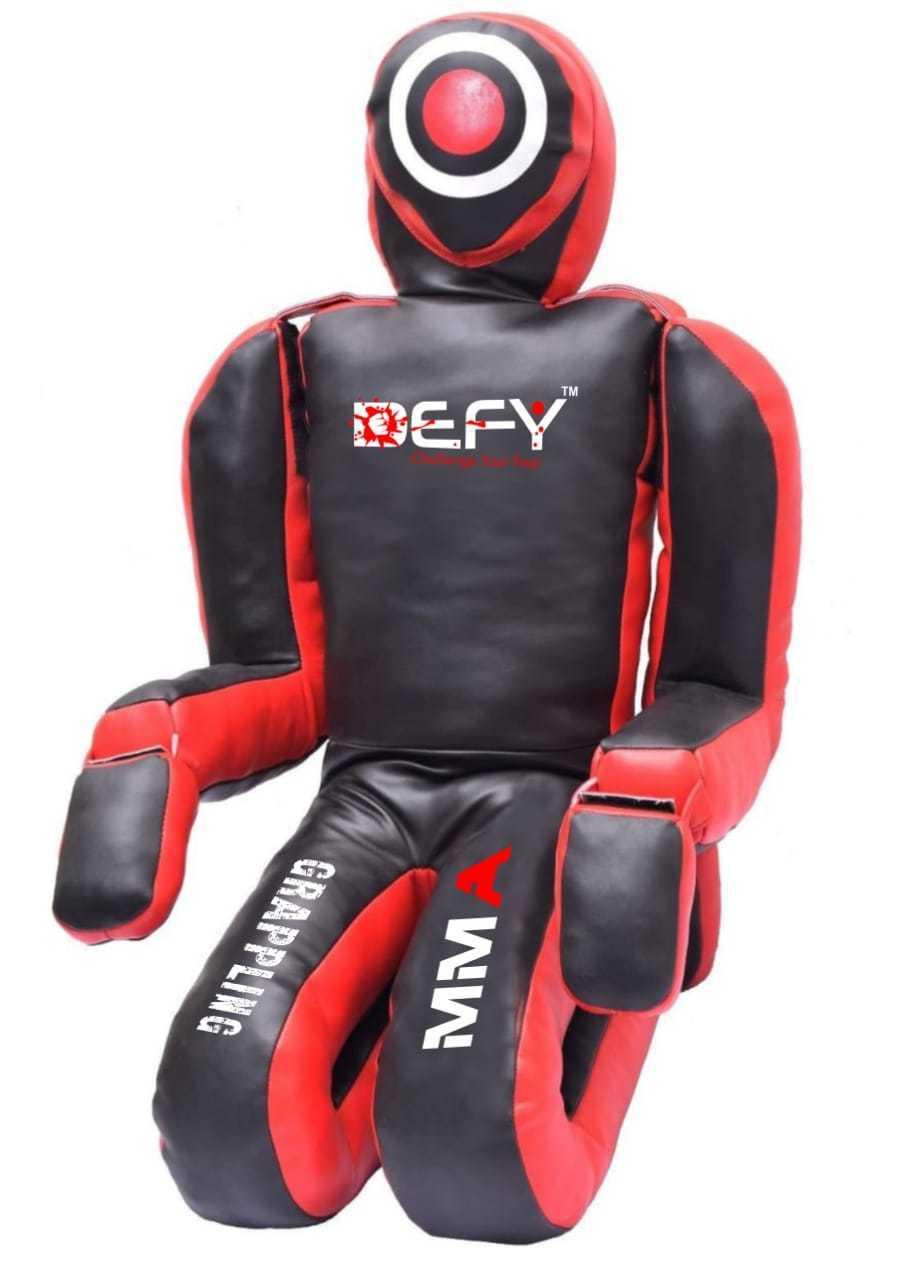 DEFY Brazilian Grappling Kneeling Dummy Artificial Leather MMA Judo Karate GD2