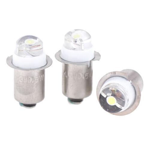 P13.5S 0.5w 3v 4.5v 6v work light flashlight torch light replacement led bulbFBB