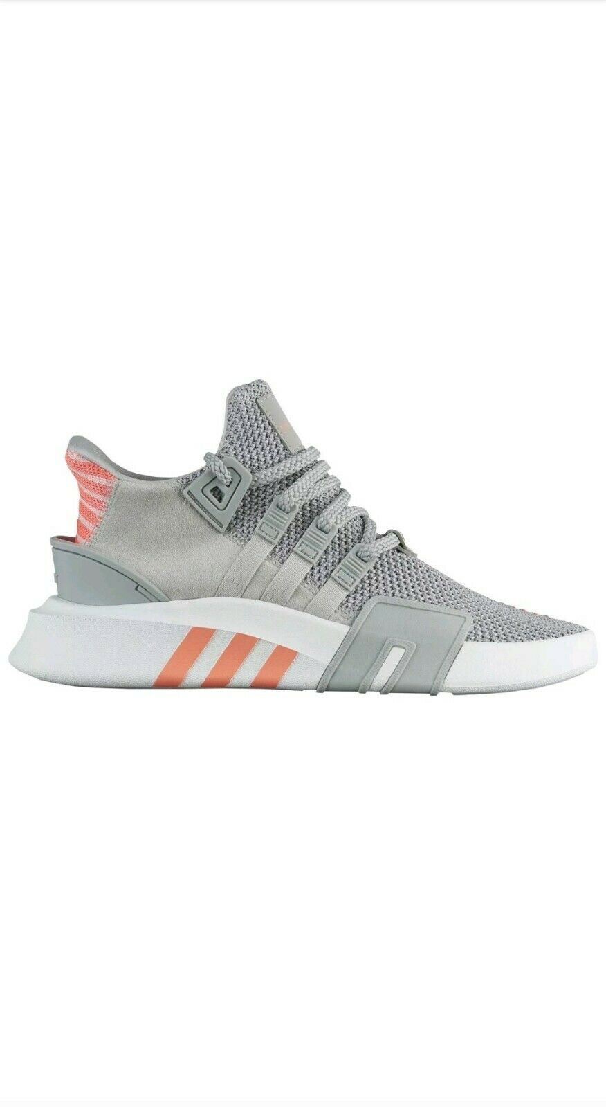 WOMENS ADIDAS ORIGINALS EQT BASKETBALL ADV SZ 7 GREY WHITE CORAL AC7351