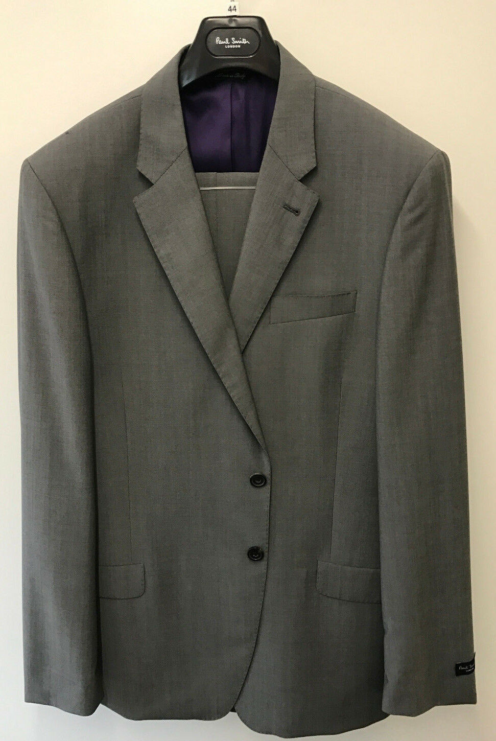 Paul Smith TRAVEL SUIT BYARD Mid Grau Slim Fit UK44L EU54L