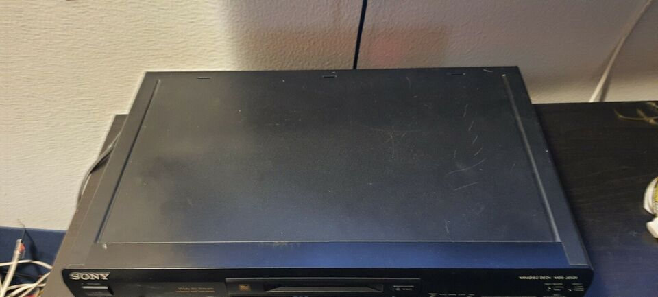 Minidisc afspiller, Sony, MDJ-JE520