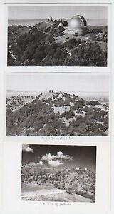 B7638 : (6) 1940's Lécher Observatoire Photo Cartes Postales