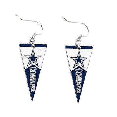 pennant earring dangle NFL Pick your team