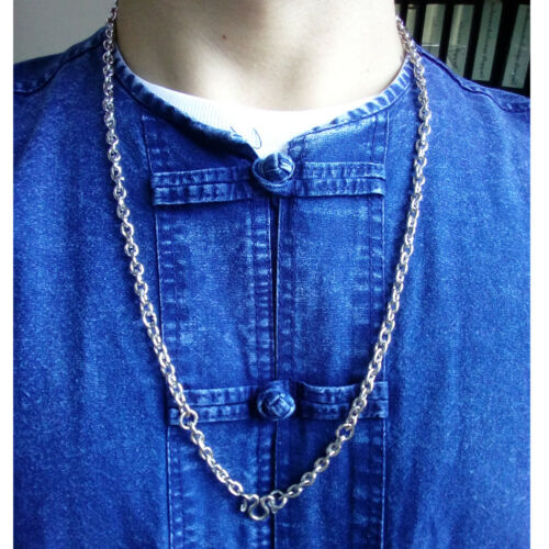 Thai Amulet Necklace Stainless steel chain 26 inches 5 Hook For Buddha Pendant