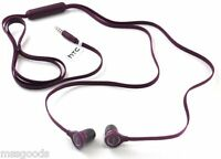 Original Htc 3.5mm Stereo Headset Headphone Earphone Mic For Htc Phones