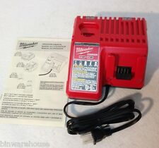 NEW MILWAUKEE 48-59-1812 DUAL PORT M18 AND M12 MULTI-VOLTAGE COMBO CHARGER
