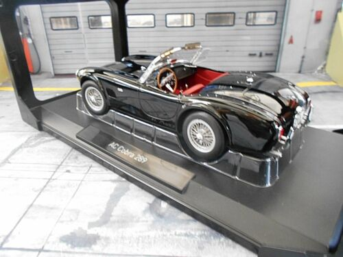 AC Cobra Ford 289 Roadster schmale Version schwarz black 1963 182754 Norev 1:18