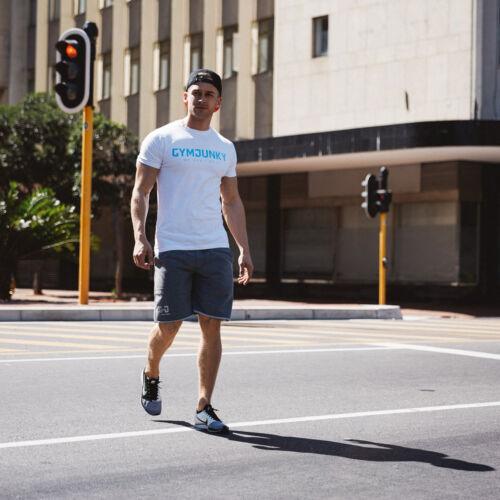 Summer New Fashion Crossfit Men/'s T-shirt Man Male Sportswear Cool Top Tops tees