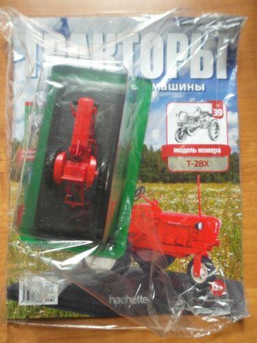Hachette Traktor T28X #39 1:43 UdSSR USSR + Russische Magazin