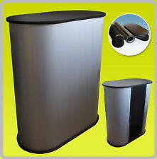 Podium Counter Stand Table Pop Up Trade Show Display Black S1