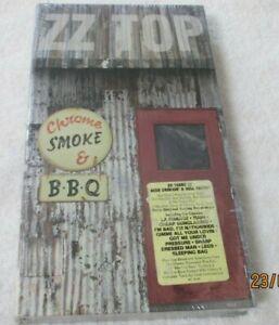 New ZZ Top Chrome Smoke & BBQ CD Set The ZZ Top Box | eBay