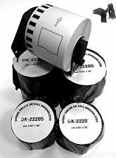 8 Rolls Labels123 Brand Fits Brother Dk 2205 P Touch Ql700 Ql500 1 Free Frame