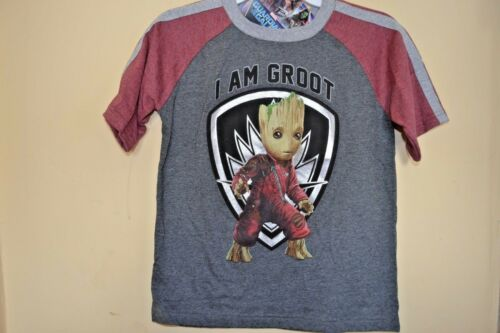 GUARDIANS OF THE GALAXY//I AM GROOT-BOYS 7 thru 14//16-LICENSED SHORT SLEEVE-NWT