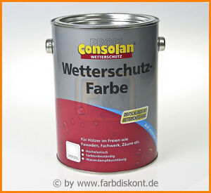 Consolan-Wetterschutzfarbe-2-5-ltr-Grosse-Farbauswahl-EUR-13-94-L