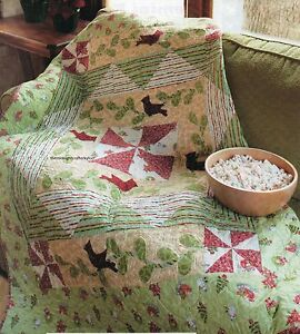 Red Bird Of Winter Quilt Pattern Pieced Applique Bg Ebay
