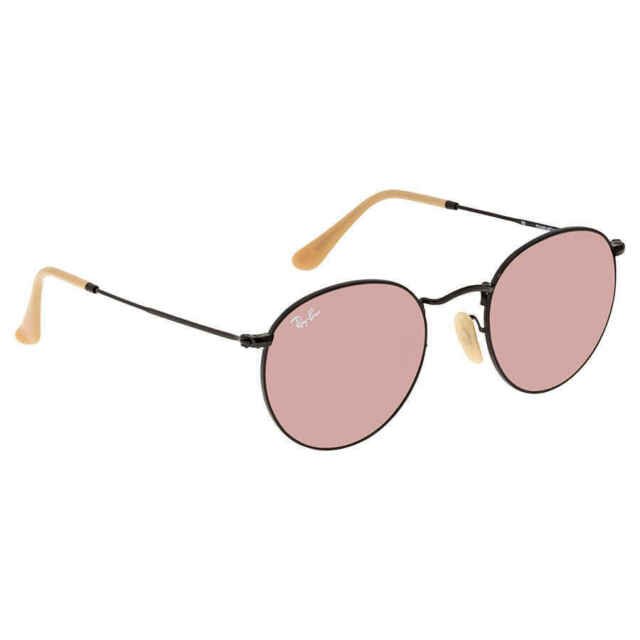 ray ban round metal rb3447 glasses