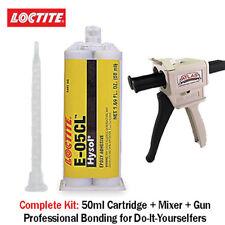 Loctite Ea Hysol E 05cl Fast Set Clear Non Sag Epoxy Gel 50mldispenser