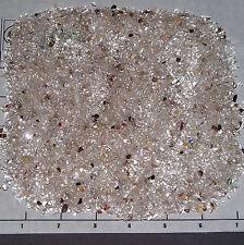 QUARTZ Clear Lt Smoky 3-5mm tumbled 1/2 lb bulk xxmini+ stones unsorted