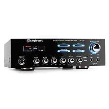 AMPLIFICATEUR HIFI STEREO HOME CINEMA KARAOKE 2 X 60W RMS  USB MP3 AMPLI  PA