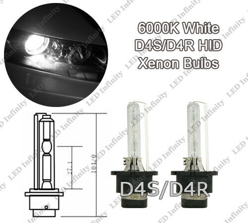 D4S D4R Xenon White OEM HID High Low Beam Headlight Bulbs For Toyota 90981-20013