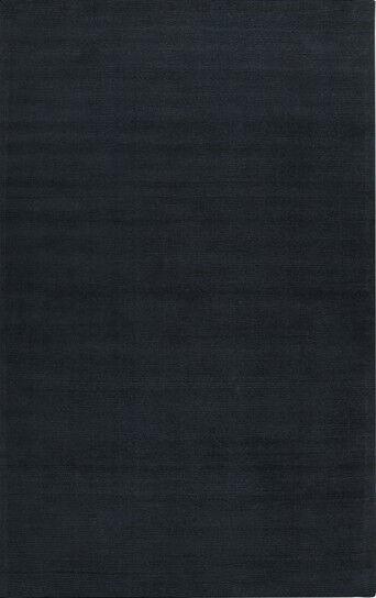 Surya Dark blu 3 x 5 Contemporary Hand Made Area Rug - Approx 3' 3  x 5' 3