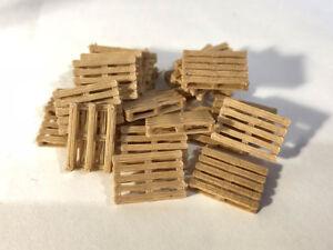 3D-PRINTED-REAL-WOODEN-EURO-PALLETS-OO-GAUGE-1-76-SCALE-MODEL-RAILWAY-AX063-OO