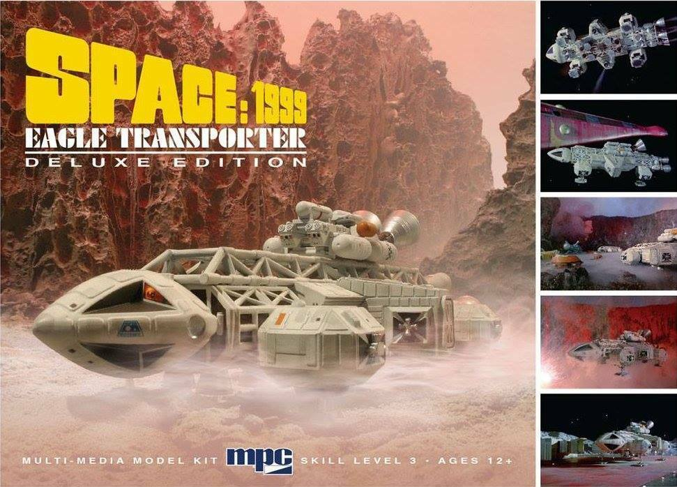 Space 1999 Eagle 1 Deluxe Model Kit   MPC Gerry Anderson Transporter