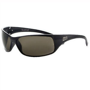 9a61a915df Bolle Recoil Sport Sunglasses 10405 Shiny Black Polarized TNS for ...