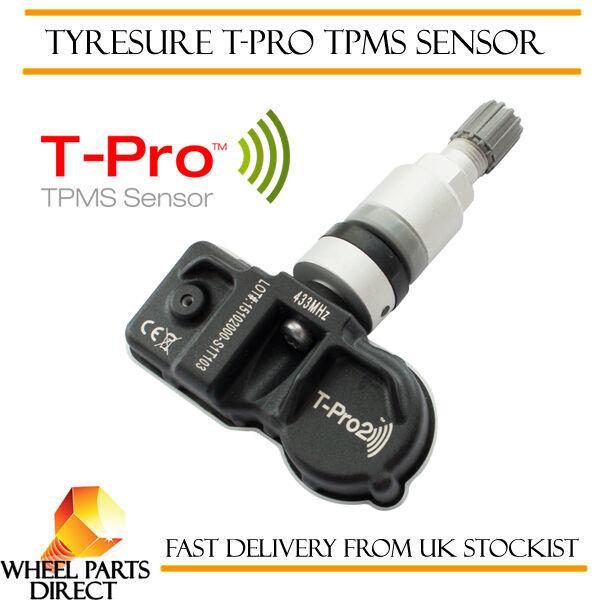 Brioso Sensore Tpms (1) Tyresure T-pro Pressione Dei Pneumatici Valvola Per Infiniti Fx50 09-13
