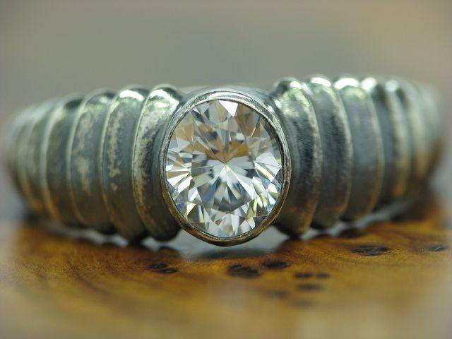 925 STERLING silver RING MIT ZIRKONIA BESATZ   ECHTsilver   RG 57   4,3g
