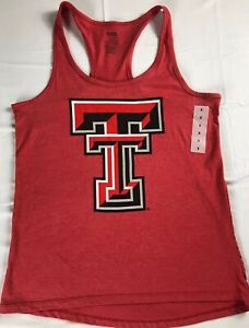 Texas-Tech-Tank-Top-Womens-SZ-S-M-Racerback-Red-Raiders-Student-Alumni-Gym-NEW