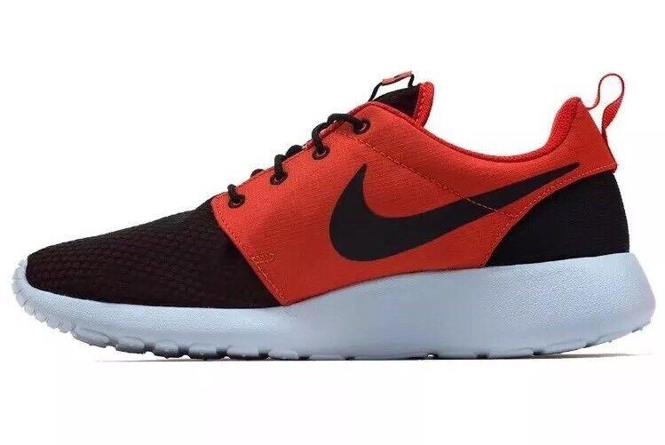 Nueva Nike Roshe Hombre uno se 844687 800 Hombre Roshe running Shoes Sneakers Rojo Negro 13 de nosotros el mas popular de zapatos para hombres y mujeres 2db79e