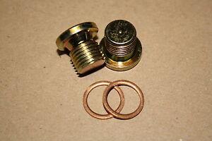 O2-Plugs-Lambdasondenverschlussstopfen-fuer-Harley-Davidson-Kruemmer-M12-x-1-25