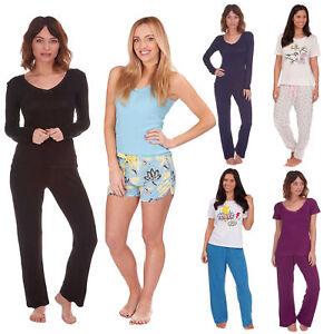acd3a2a678c3 Womens Comfy PJ Pyjama Set Sexy PJ s Pyjamas Ladies Lounge Wear New ...