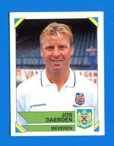 JOS DAERDEN BEVEREN -New FOOTBALL 95 BELGIO Panini Figurina-Sticker n 67