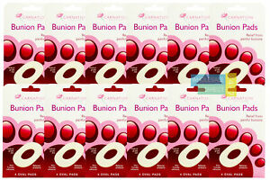 CARNATION-BUNION-PADS-4-OVAL-PADS-1-3-6-amp-12-PACKS-AVAILABLE