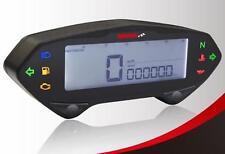 Digital Speedo Speedometer KOSO DB01RN Yamaha/Moto Guzzi cable drive adapter