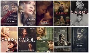 """Rooney Mara Cate Blanchett Love Film Carol Movie Art Poster 18x12 36x24 40x27/"""""""