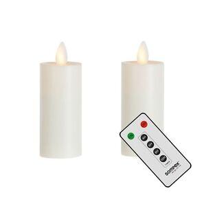39010-Sompex-SET-DE-DOS-Sompex-LLAMA-LED-XL-Luces-de-te-XL-con-control-remoto