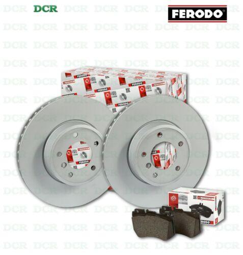 KIT PASTIGLIE FRENO E DISCHI ANTERIORI FERODO FORD S-MAX 1.8 TDCI 92KW 125CV