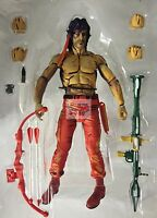 Neca Rambo Stallone Video Game First Blood Nes 8-bit 7 Inch 2015 Loose Figure