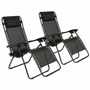 Swell Details About 2Pcs Plum Blossom Lock Portable Folding Lounge Chairs Sling Deck Chair Patio Us Gmtry Best Dining Table And Chair Ideas Images Gmtryco