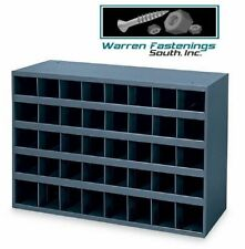 Metal 40 Hole Storage Bincabinet For Nuts Bolts And Fasteners