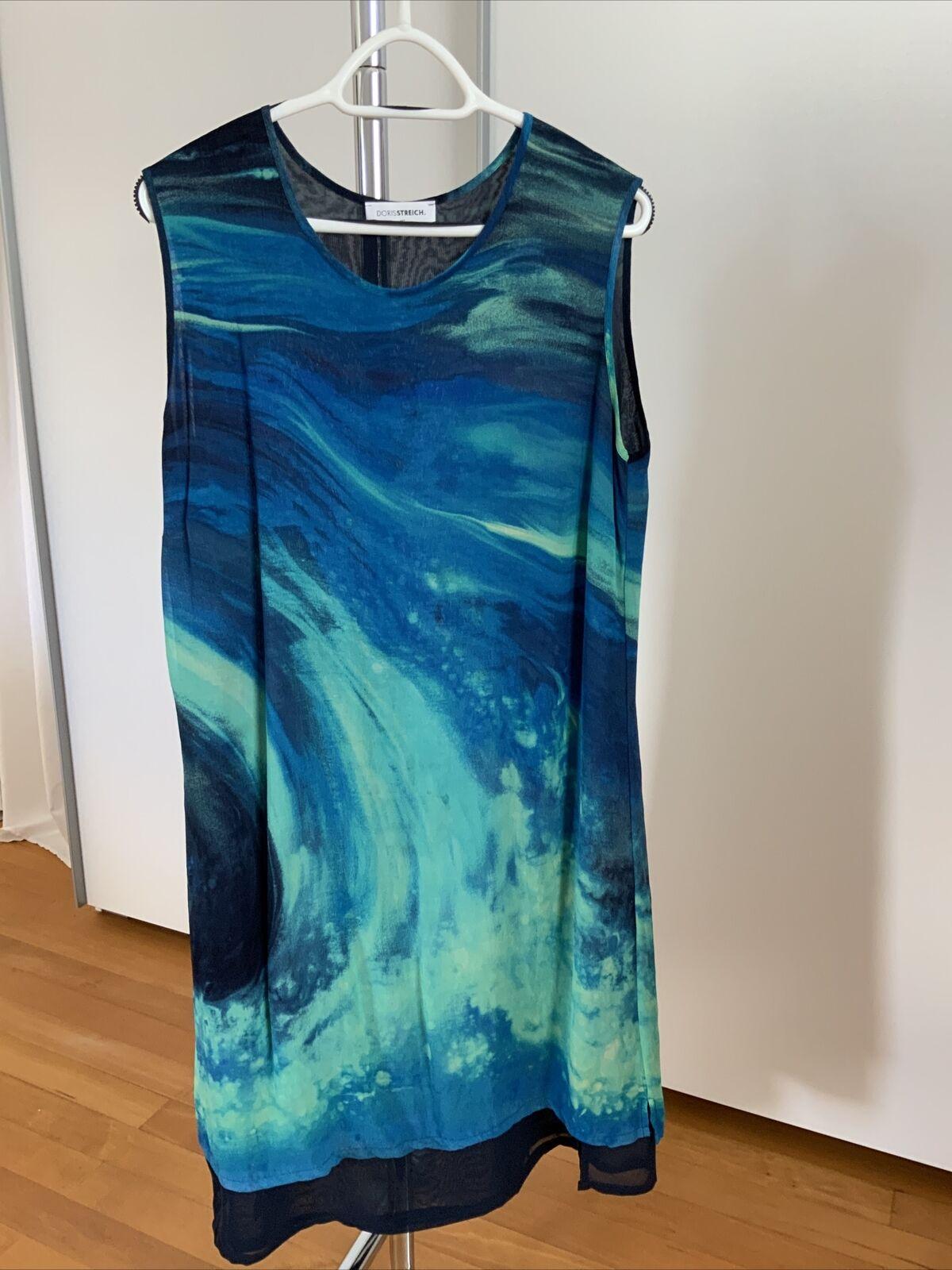 DORIS STREICH ~ Kleid Ärmellos -Gr. 46 Neuwertig Mehrfarbig