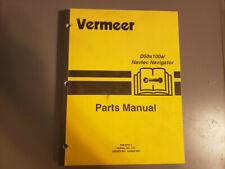 Used Vermeer D50x100anavtec Navigator Parts Manual
