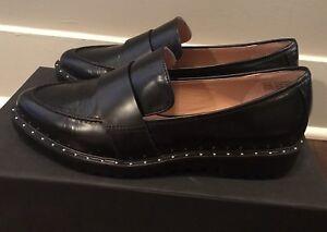 Black 8 Sz Halogen Haemilystud Women's lea 5m Leather Shoes qzSUOpwt
