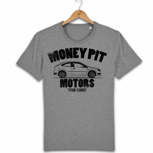 5XL Motorholics Homme Money Pit auto Ford Focus ST T-Shirt S